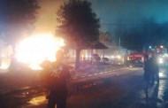 Lebih dari 100 Motor Terbakar di Mapolda Jateng