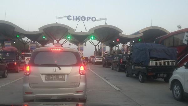 Sabtu Siang, 33.328 Kendaraan Mudik Tinggalkan Jakarta