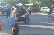 Kesibukan Aparat Kepolisian