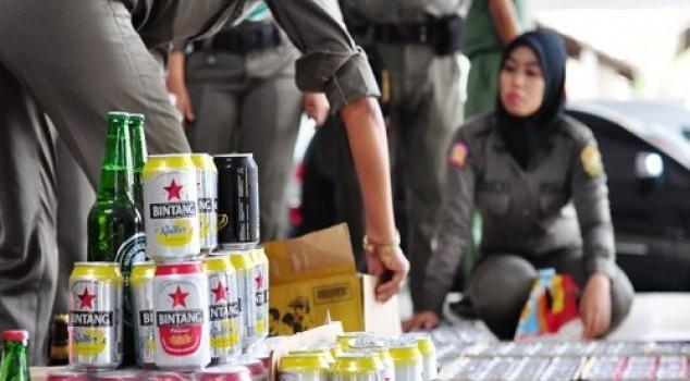 Oknum-oknum Satpol PP Makassar Memang Terbiasa Minum Miras