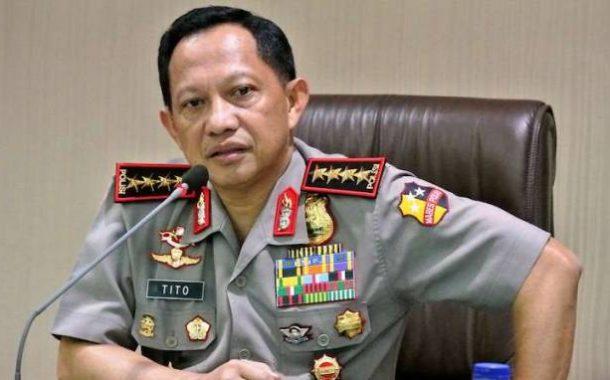 Kapolri Tito Karnavian Diberhentikan