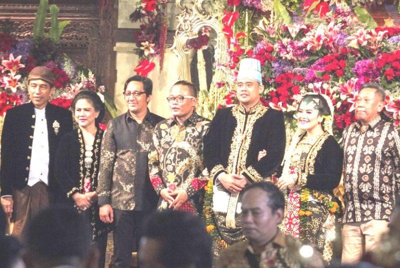 Selesai Mantu, Jokowi Ucapkan Terima Kasih