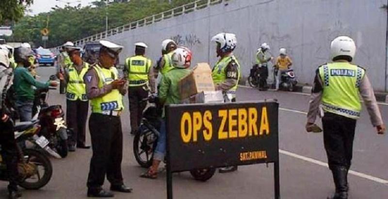 Waduh, Sepekan Operasi Zebra Saja 72.828 Kendaraan Kena Jaring
