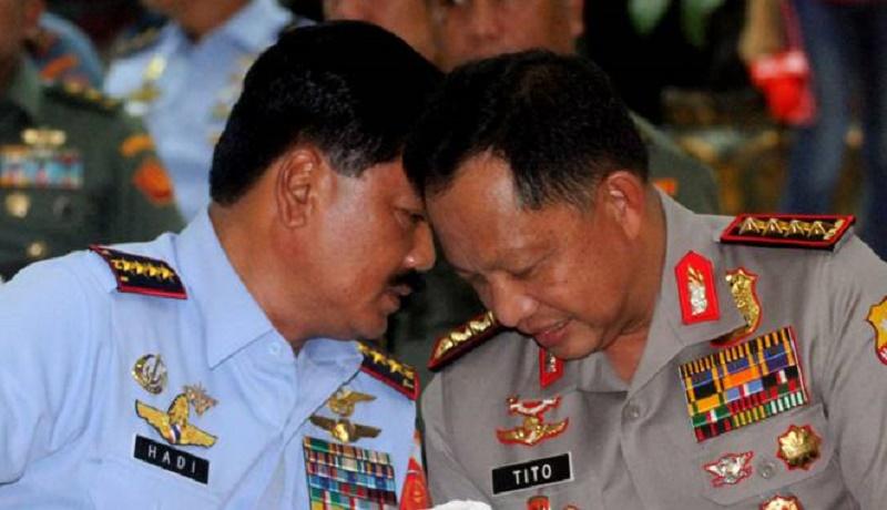 Panglima TNI Tegaskan Siap Bantu Polri Amankan Nataru
