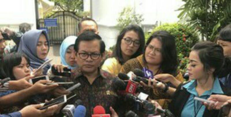 Soal Cawapres, Pramono: Cuma Jokowi dan Allah yang Tahu