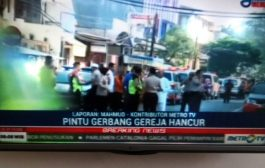 Tiga Bom Meledak di Surabaya