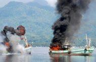 Menteri Susi Sudah Tenggelamkan 363 Kapal
