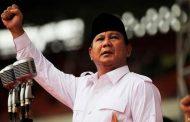 Prabowo Subianto Memilih di TPS Bojong Koneng