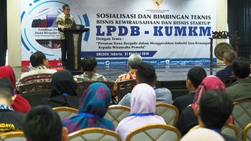 Genjot Modal UKM dan Startup, LPDB Gandeng Perbankan Syariah