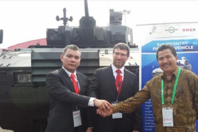 Pindad Bersama CSG Kenalkan Panser Terbaru