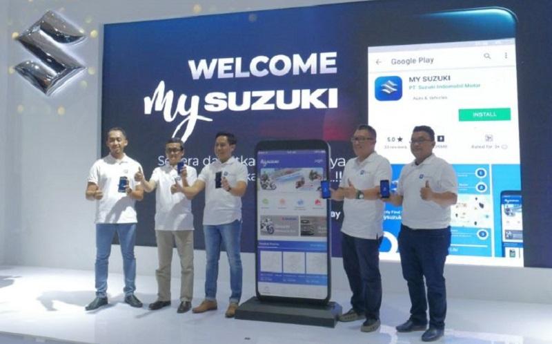 Aplikasi My Suzuki, Mempermudah Cari Suku Cadang Asli Suzuki