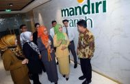 Bank Mandiri Syariah Biayai Sektor Infrastruktur Rp7,47 T