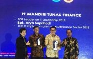 MTF Kantongi Penghargaan Berkat Information Communication Technology