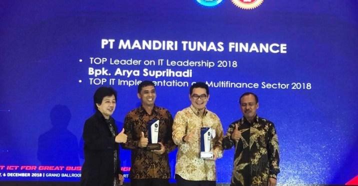 MTF Kantongi Penghargaan Berkat Information Communication Technology