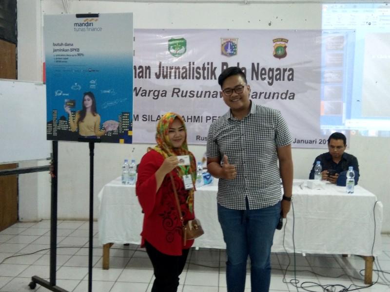 Saat Pelatihan Jurnalistik, Mandiri Tunas Finance Beri Solusi Pembiayaan