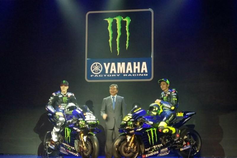 """Rossi dan Vinales  """"Livery""""  Yamaha YZR-M1"""