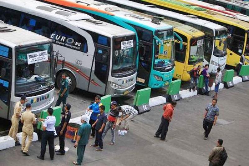 Sopir Bus Tolak One Way saat Mudik Lebaran