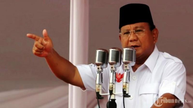 Prabowo Dikabarkan Jadi Tersangka Makar