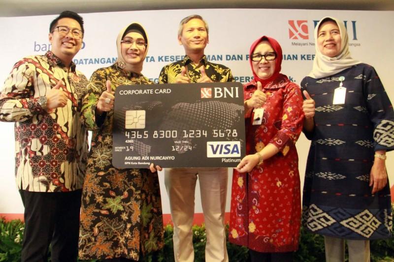 BJB Gandeng BNI Terbitkan Kartu Kredit Pemerintah