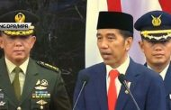Presiden Joko Widodo Berpidato Usai Dilantik
