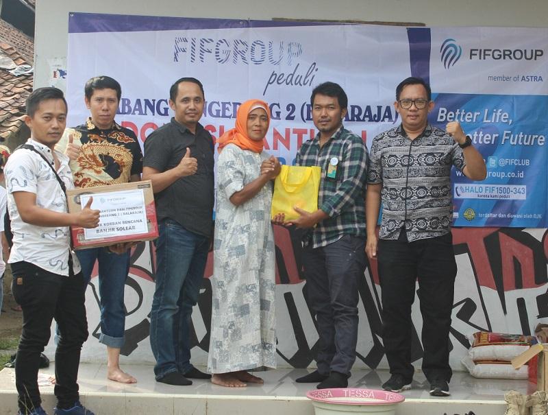 Sentuhan Humanis dari FIFGROUP bagi Korban Banjir Tangerang