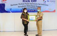 Peduli Wabah Corona, FIFGROUP Salurkan Bantuan 75.000 Paket Sembako