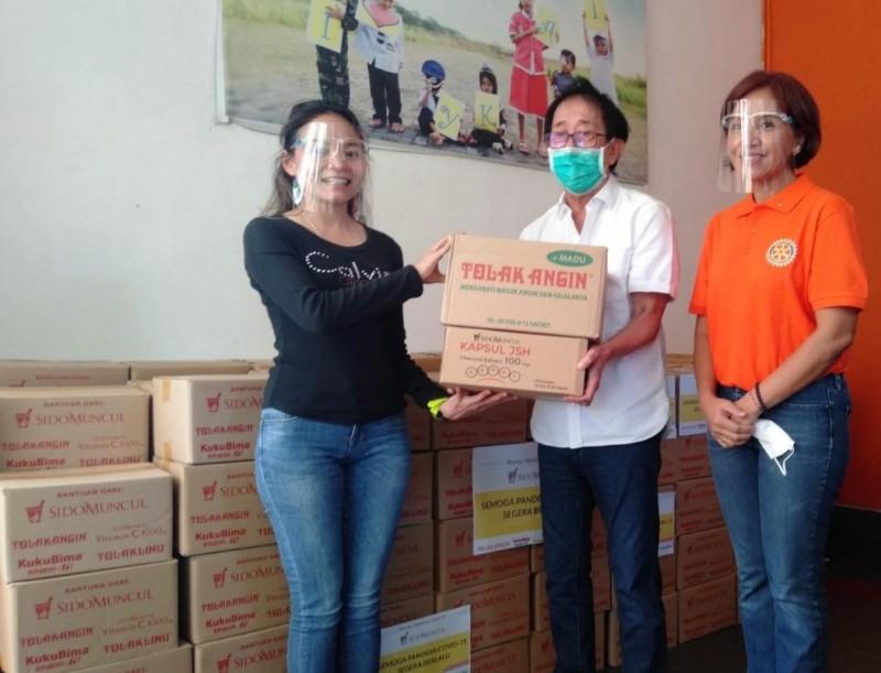 Sido Muncul Peduli, Beri Bantuan ke YKAKI Semarang