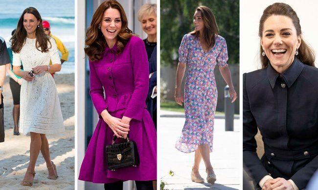 Ini Rahasia Tubuh Langsing Kate Middleton