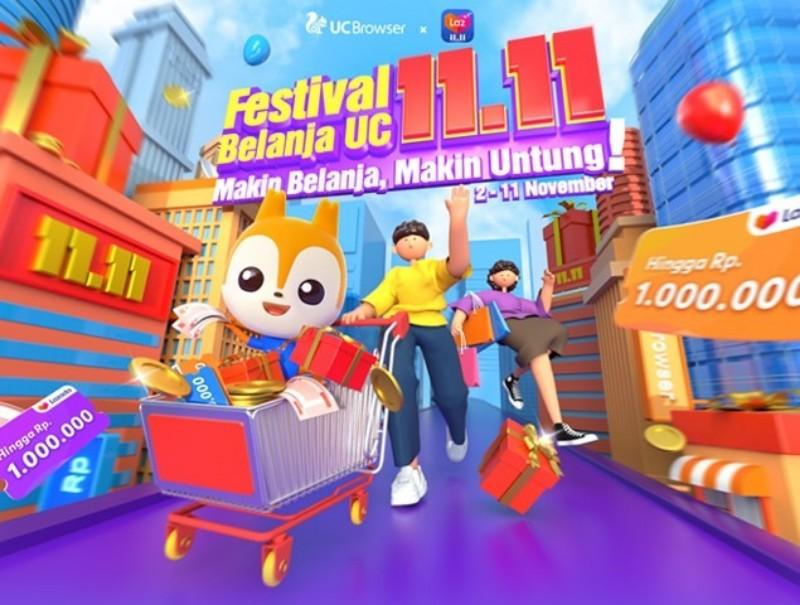 Tinggal Hari dan Besok, Ikuti Kemeriahan Festival Belanja UC 11.11