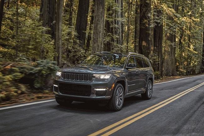 Baru, Jeep Grand Cherokee 2021 Muat 7 Penumpang